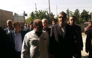 بازدید وزیر بهداشت از طرح توسعه بیمارستان کودکان سیدالشهدا (ع) اصفهان