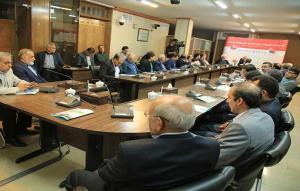 جلسه مشترک اعضای شورای سیاستگذاری فیلم کوتاه مهر سلامت با استاندار و شهردار و مدیرکل ارشاد اصفهان