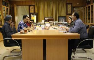 نشست تخصصی کارگروه فیلم کوتاه مهر سلامت جهت انتخاب اعضای هیات داوران