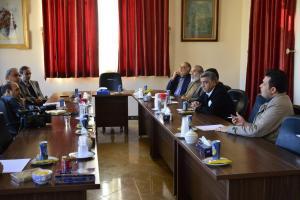 جلسه اعضای شورای سیاستگذاری جشنواره فیلم کوتاه مهر سلامت