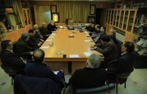 جلسه مشترک اعضای شورای سیاستگذاری جشنواره فیلم مهر سلامت با معاون فرهنگی تفریحی شهرداری اصفهان