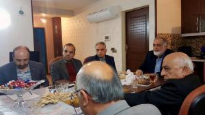 نشست  اعضای شورای سیاستگذاری جشنواره فیلم  مهر سلامت با  هیئت مدیره مجمع خیرین سلامت استان اصفهان
